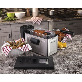 Hamilton Beach Stainless Steel 8 Cup Professional Style Deep Fryer