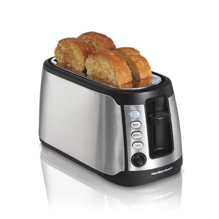 Hamilton Beach 24810 Keep Warm 4-slice Long Slot Toaster