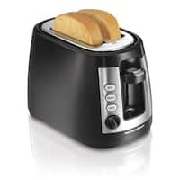 Hamilton Beach Black Cool Touch 2-slice Toaster with Retractable Cord