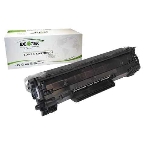 eReplacements CB436A-ER New Compatible Toner Cartridge - Alternative for HP (CB436A) - Black