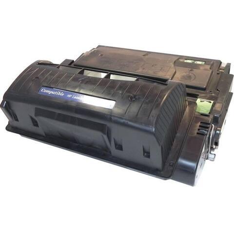 eReplacements Q5942X-ER New Compatible Toner Cartridge - Alternative for HP (Q5942X) - Black