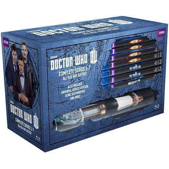Doctor Who: The Complete Series 1-7 (Blu-ray Disc)