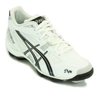 Asics Men's 'Gel V' White Mid-cut Field Shoes