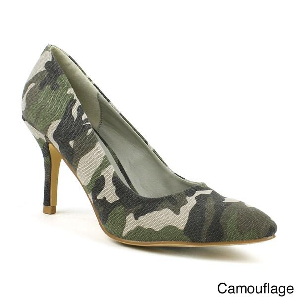 Mark & Maddux Women's 'Alan-06' Low-heel Pumps