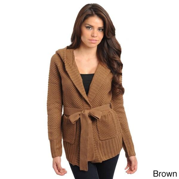 Stanzino Women's Long Sleeve Hooded Sweater