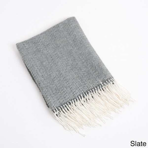 Charlotte Design Fringe Throw