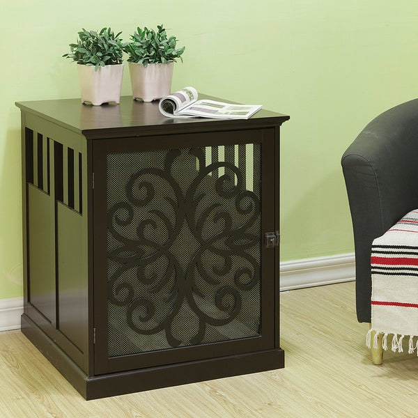 Small Tesy Residence Pet Crate By Elegant Home Fashions Free Shipping Today