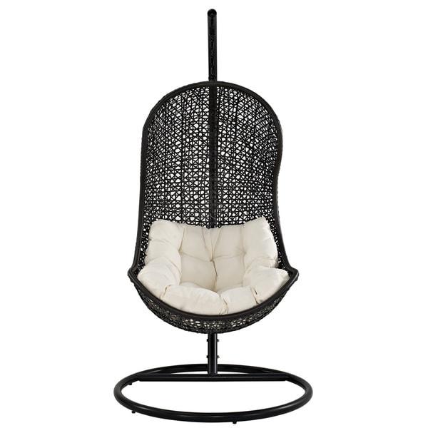 Parlay Rattan Outdoor Wicker Patio Swing Chair