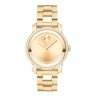 Movado Women's Bold Diamond-accented Swiss Quartz Watch