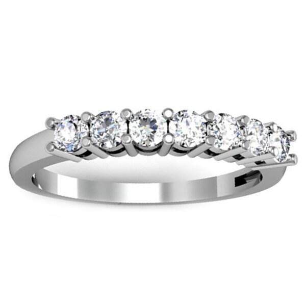 Elora 14k Gold 1/2ct TDW Diamond Wedding Band (H-I, I1-I2)