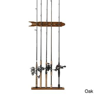 Modular 8 Rod Wall Rack