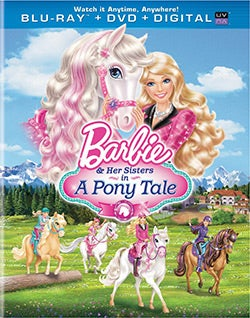 Barbie & Her Sisters In A Pony Tale (Blu-ray/DVD)