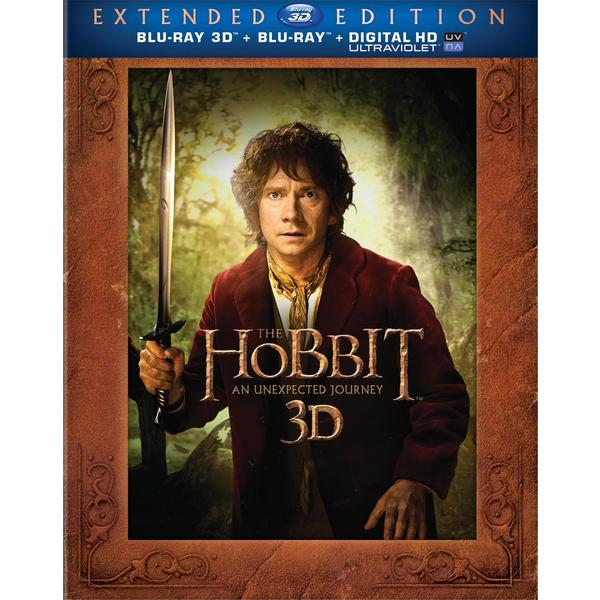 The Hobbit: An Unexpected Journey 3D - Extended Edition (Blu-ray/DVD)