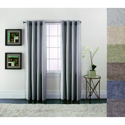 Brielle Home Linen Blend Curtain Panels