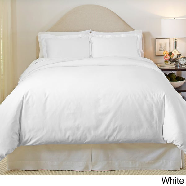 Pointehaven 500 Thread Count Egyptian Cotton 3-piece Duvet Cover Set