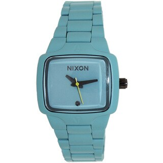 Nixon Women's Small Player A300272-00 Blue Stainless-Steel Quartz Watch with Blue Dial