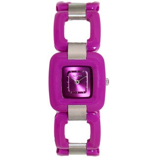 Nixon Women's Sisi A248698-00 Purple Plastic Quartz Watch with Purple Dial