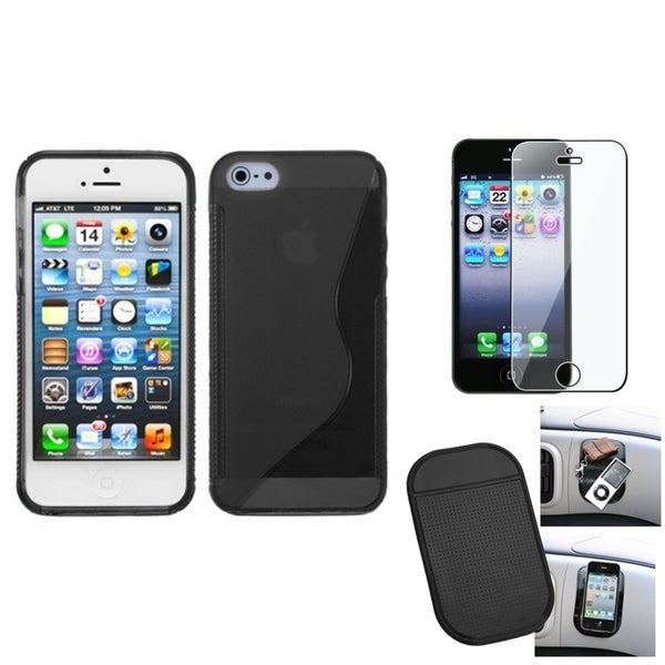 BasAcc Screen Protector/ Anti-slip Mat/ Case for Apple® iPhone 5