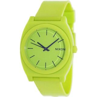 Nixon Men's 'Time Teller' Green Watch