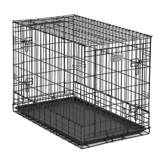 Midwest Solutions Side by Side Double Door Dog Crate