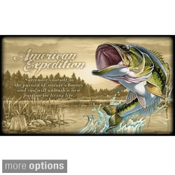 American Expedition Canvas Wrapped Wall Art