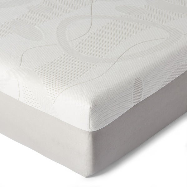 slumber solutions choose your comfort 10inch queen memory foam mattress free shipping today