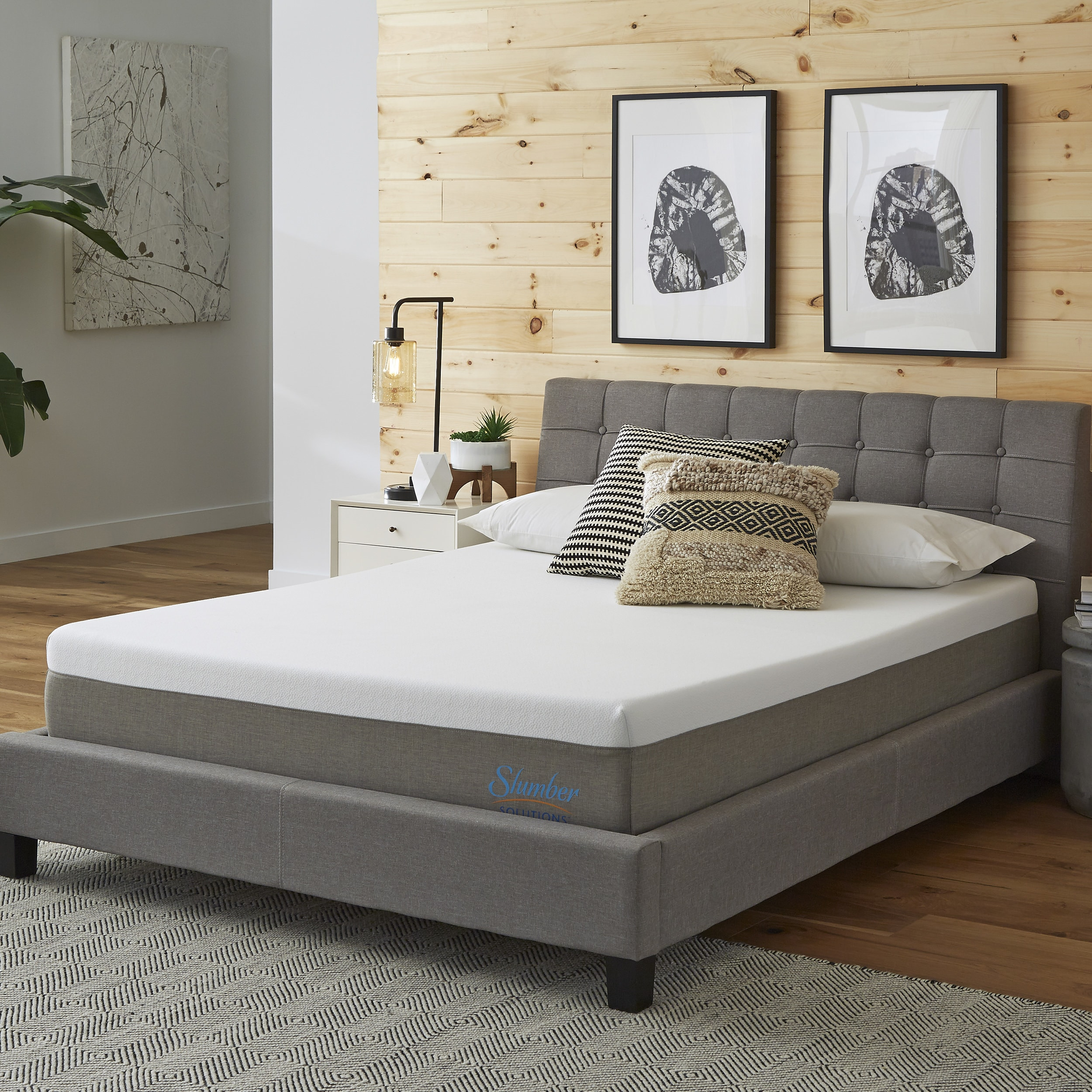 Shop Slumber Solutions Essentials 10 Inch Memory Foam Mattress