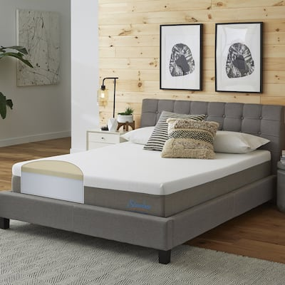 Slumber Solutions Essentials 10-inch Memory Foam Mattress - White