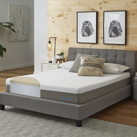 Slumber Solutions Essentials 10-inch Memory Foam Mattress - White