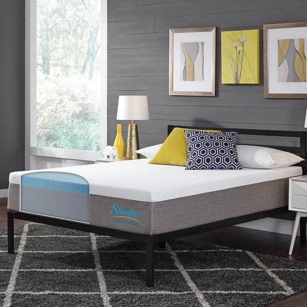 Slumber Solutions Essentials 8-inch King-size Memory Foam Mattress