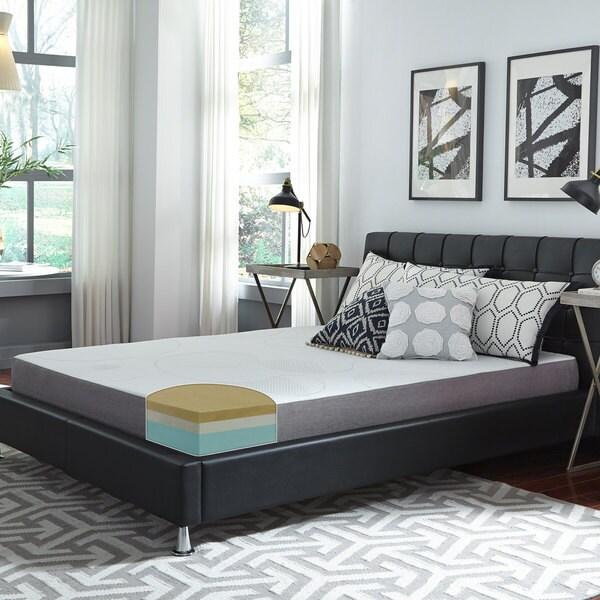 Slumber Solutions Choose Your Comfort 8-inch King-size Memory Foam Mattress