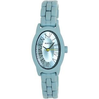 Nixon Women's 'Scarlet' Blue Stainless Steel Watch