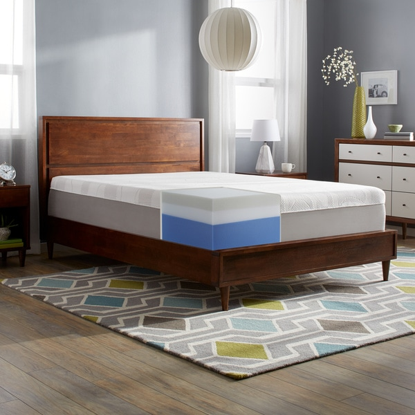 Slumber Solutions Choose Your Comfort 14-inch King-size Memory Foam Mattress