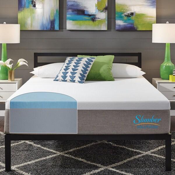 Slumber Solutions 12-inch Essentials King-size Memory Foam Mattress