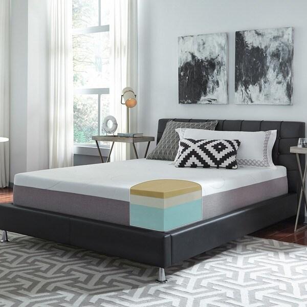 Slumber Solutions Choose-Your-Comfort 12-inch King-size Memory Foam Mattress