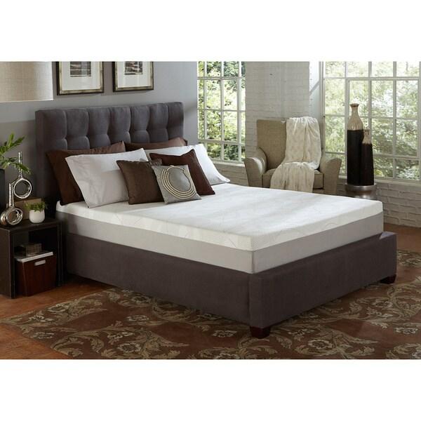 Slumber Solutions Choose Your Comfort 10-inch Full-size Memory Foam Mattress