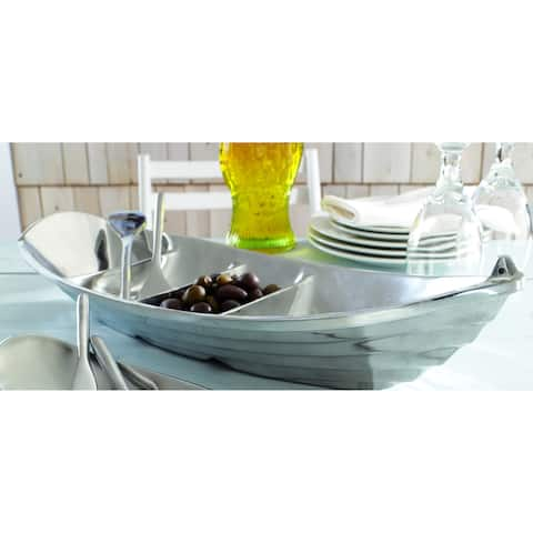 Aluminum Tropical Boat Tray with Oar Servers