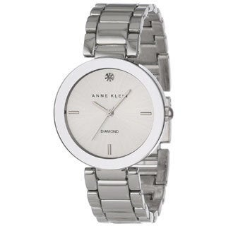 Anne Klein Women's Silver Stainless Steel Silver Dial Quartz Watch
