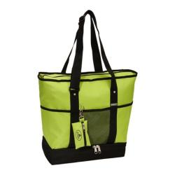 Everest Deluxe Shopping Tote (Set of 2) Lime/Black