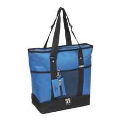 Everest Deluxe Shopping Tote (Set of 2) Royal Blue/Black