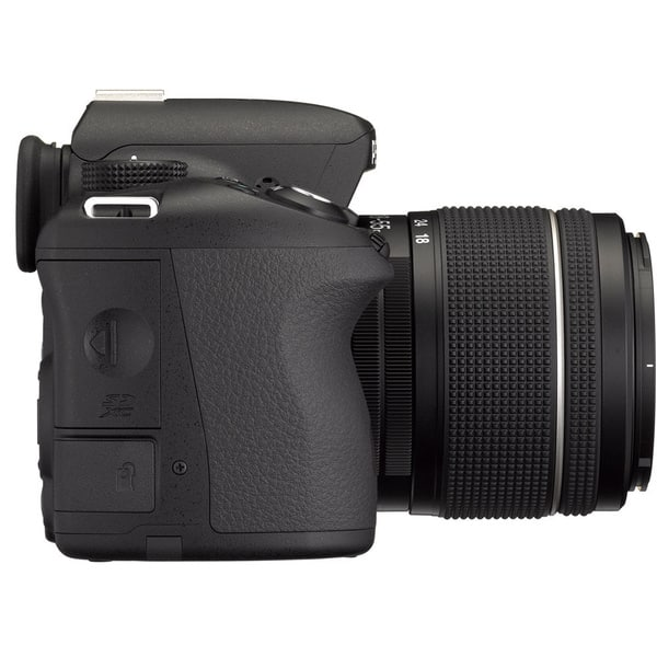 Shop Pentax K 50 16 3mp Black Digital Slr Camera With Da 18