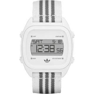 Adidas Men's Syndney ADH2732 White Nylon Quartz Watch with White Dial