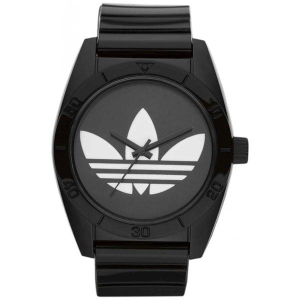 Compre Adidas Men cuarzo 19944 s Santiago ADH2653 reloj de Adidas cuarzo analógico de plástico negro e8b6ba4 - accademiadellescienzedellumbria.xyz