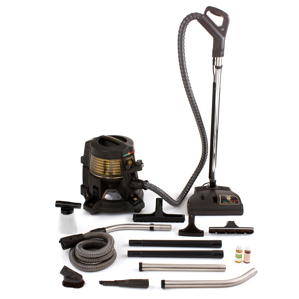 E Series Hepa E2 Rainbow Canister Vacuum Cleaner, Gold