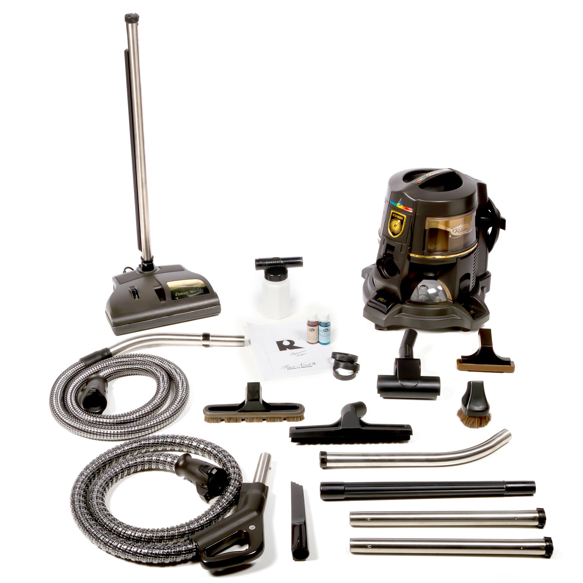 E Series Hepa E2 Gold 2-speed Rainbow Canister Vacuum Cle...