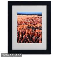 Pierre Leclerc 'Bryce Sunrise' Framed Matted Art