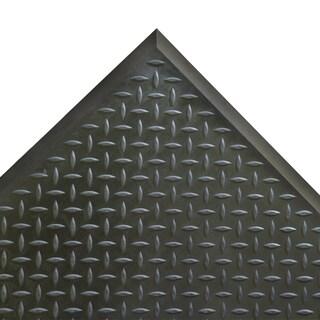 Rubber-Cal Foot Rest Black Anti-fatigue Rubber Comfort Mats (2'4 x 2'7)