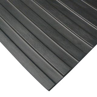 Rubber-Cal Wide Rib Rubber Flooring Rolls - 1/8 x 4ft. Wide - Non-Slip Floors -Black - Offered in 5 Lengths https://ak1.ostkcdn.com/images/products/8259240/8259240/Rubber-Cal-Wide-Rib-Rubber-Flooring-Rolls-1-8-x-4ft.-Wide-Non-Slip-Floors-Black-Offered-in-5-Lengths-P15583799.jpg?impolicy=medium