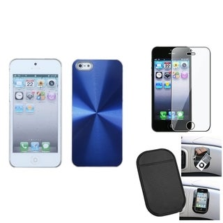 INSTEN Clear Screen Protector/ Anti-slip Mat/ Phone Case for Apple iPhone 5/ 5C/ 5S/ SE