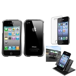 INSTEN Car Dashboard Holder/ Surround Shield Apple iPhone 4/ 4S